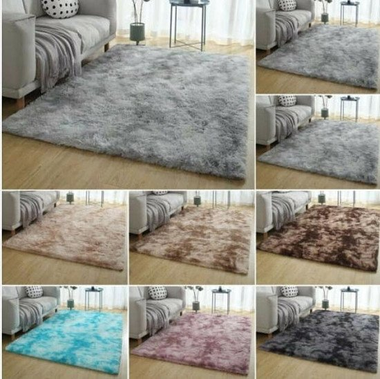 SHAGGY RUGS VARIOUS COLOURS 40 x 60  £8.99