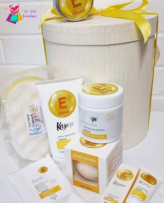 Vit E Boxed Gift Set