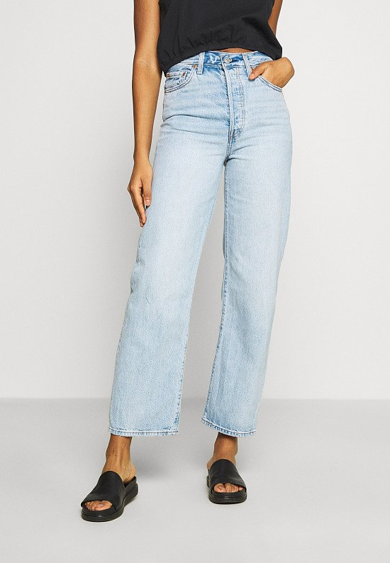 RIBCAGE STRAIGHT ANKLE JEANS - £110.00!