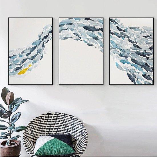 Simple Fish Canvas Print - Various Sizes