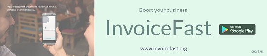 Dowload the INVOICE FAST App Now FREE!