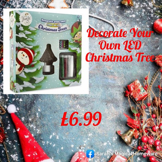 Decorate Your Own LED Christmas Tree