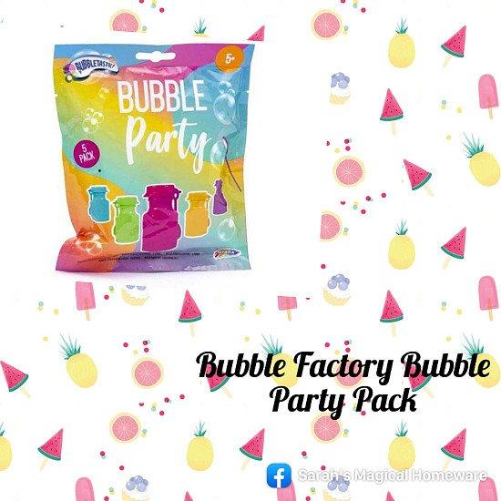 Bubble factory party pack