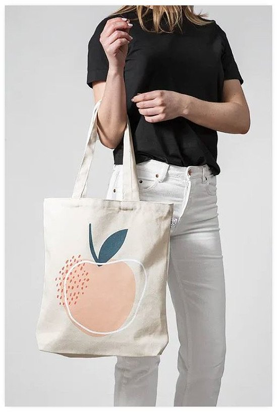 SAVE 30% - LIMITED EDITION LIFE IS PEACHY TOTE BAG!
