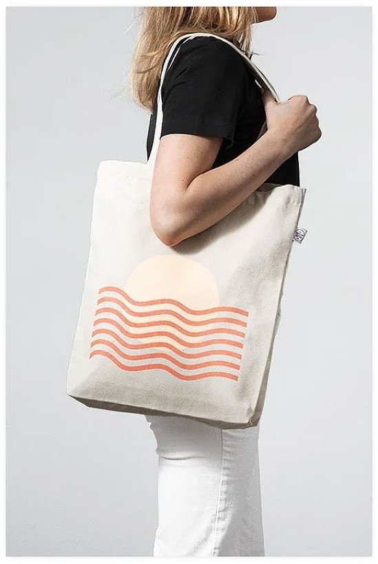 SAVE 30% - LIMITED EDITION SUNSET WAVES TOTE BAG!