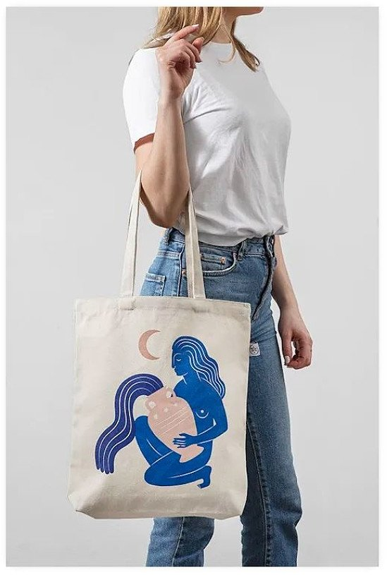 SAVE 30% - LIMITED EDITION UNDER THE MOON TOTE BAG!