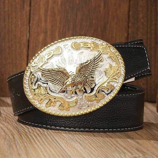 Designer luxury brand belt gold big plate buckles waist strap women