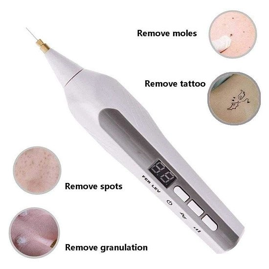 Freckle Wrinkle Mole Removal Ionic Spot Pen Skin Scares Mole Heckles