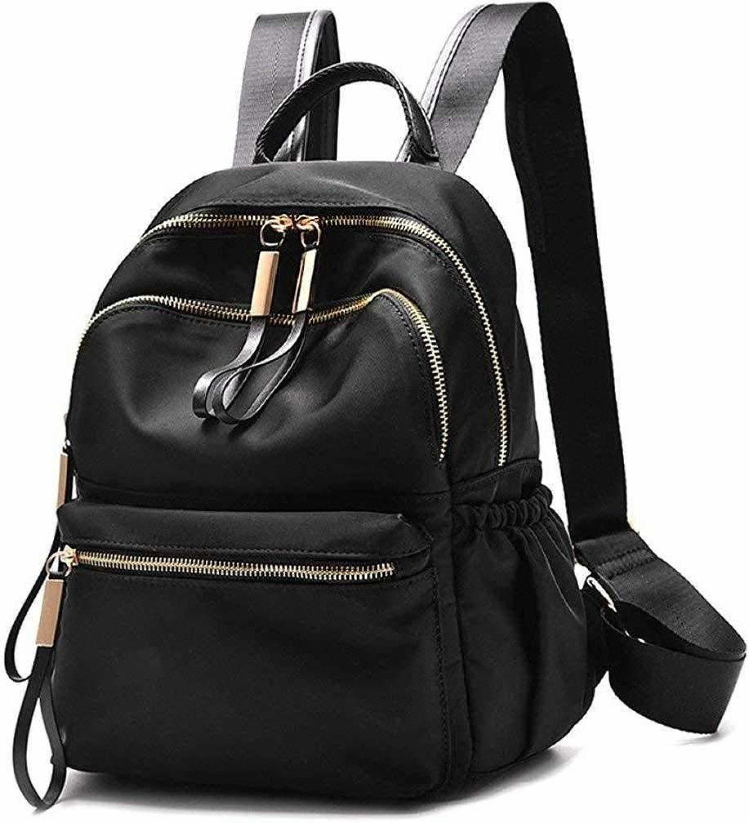 Waterproof Oxford/PU Leather Small Backpack Purse for Women School Bag for Girls