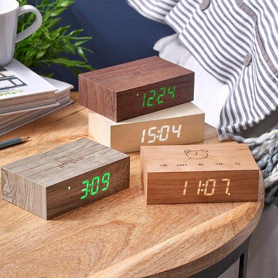 Gingko Flip Click Alarm Clock