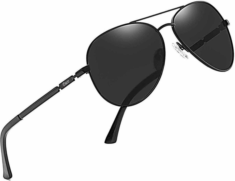 Men's Women's New Design Classic Polarised Mirrored Pilot Sunglasses