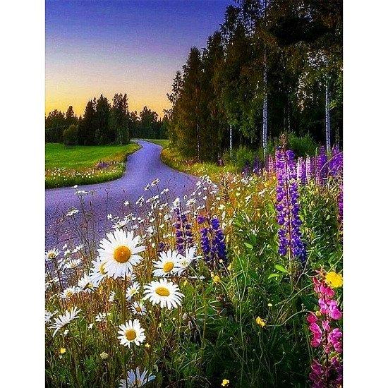 CROSS STITCH ~ FLOWER