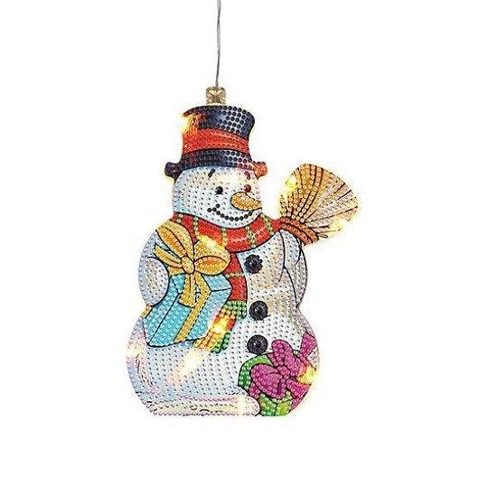 DIAMOND ART   CHRISTMAS LAMP