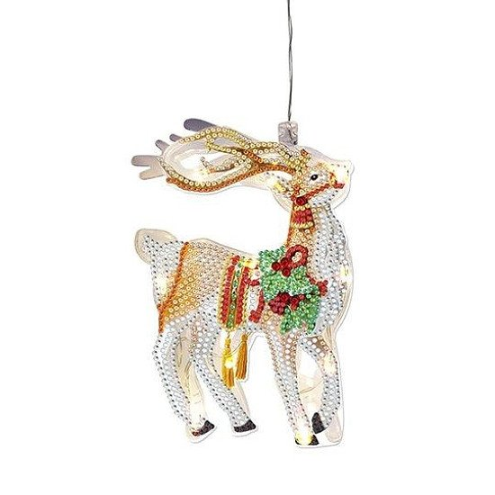 DIAMOND ART  ~ CHRISTMAS LAMP