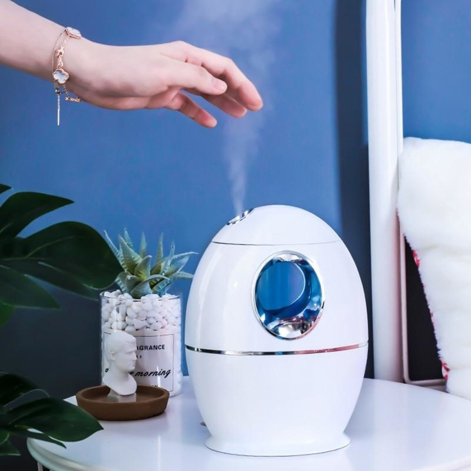 7 LED Light Colors Electric Humidifier Essential Aroma Oil Diffuser Ultrasonic Air Office Humidifier