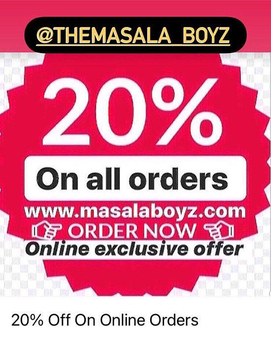 The Masala Boyz - Tamworth - Indian - Takeaway