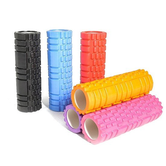 Yoga / Exercise Foam Roller  -  30 x 8 cm - Various colour options