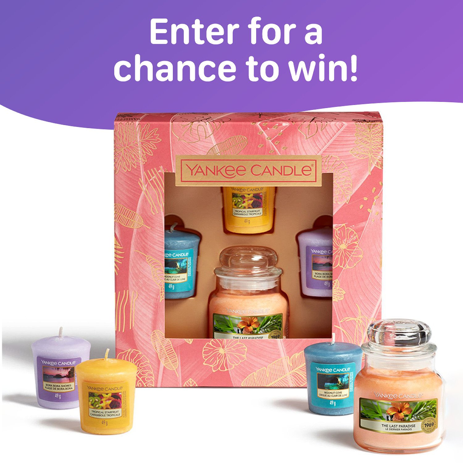 WIN this Yankee Candle Last Paradise Gift Set