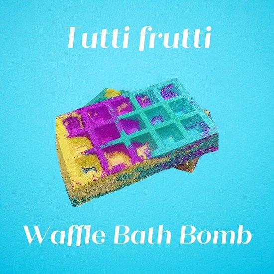 Tutti Frutti Waffle Bath Bomb