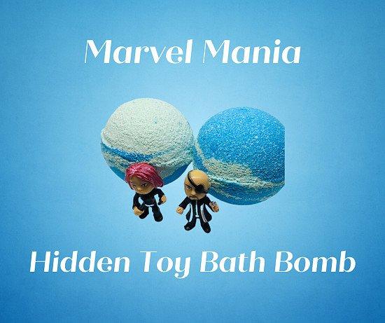 Marvel Mania ( Hidden Toy ) Bath Bomb