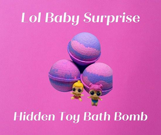 Lol Baby Surprise ( Hidden Toy ) Bath Bomb