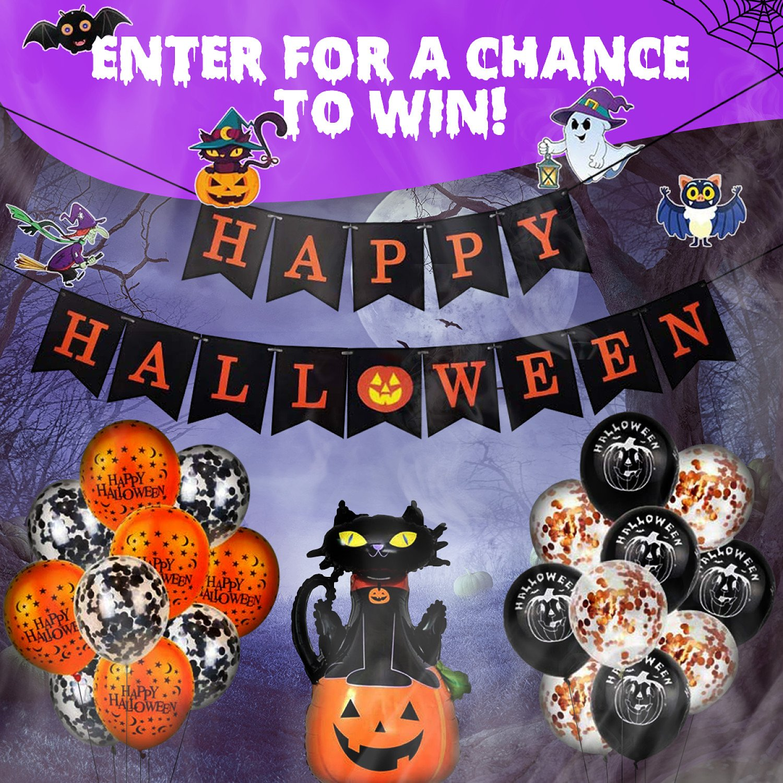WIN this Spooky Halloween Decoration Bundle