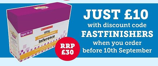 Fast Finishers for just £10