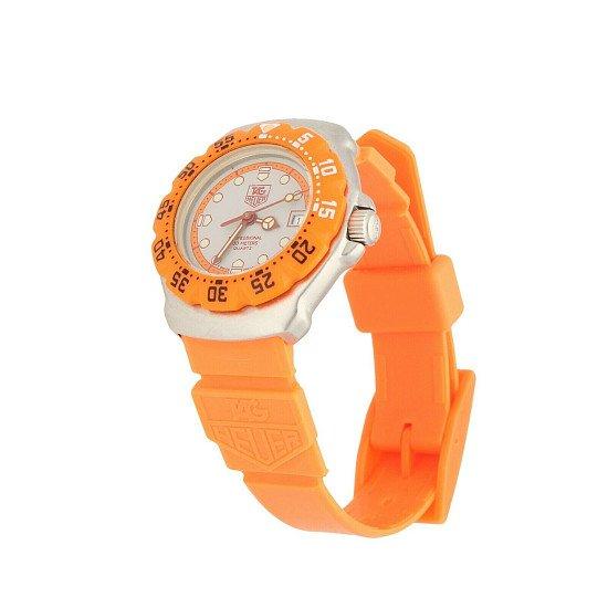 Ladies TAG Heuer Professional 373.508 Quartz Watch – 1990's Orange £349.00!