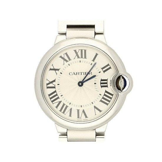 Ladies Cartier Ballon Bleu 3005 W6920084 36mm Quartz Watch – 2014 Perfect £3,749.00!