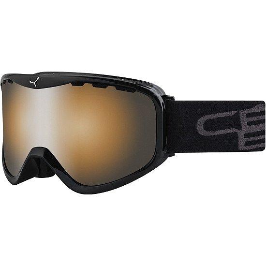 SALE ON WINTER ITEMS - Cebe Ridge OTG Goggles (Black Frame & Orange Flash Mirror Lens)!