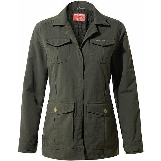 WINTER SALE - Craghoppers Womens NosiLife Lucca Jacket Mid Khaki!
