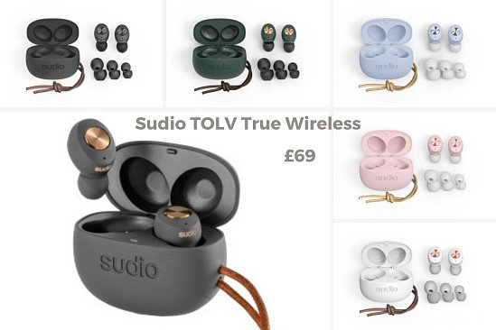 Sudio Tolv True Wireless In Ear Headphones