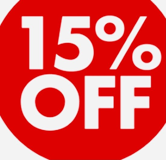 15% Off website fees ends today