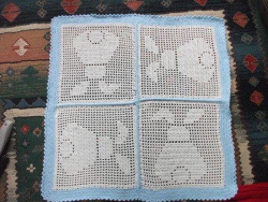 Baby Bunny Blanket Crochet Patttern