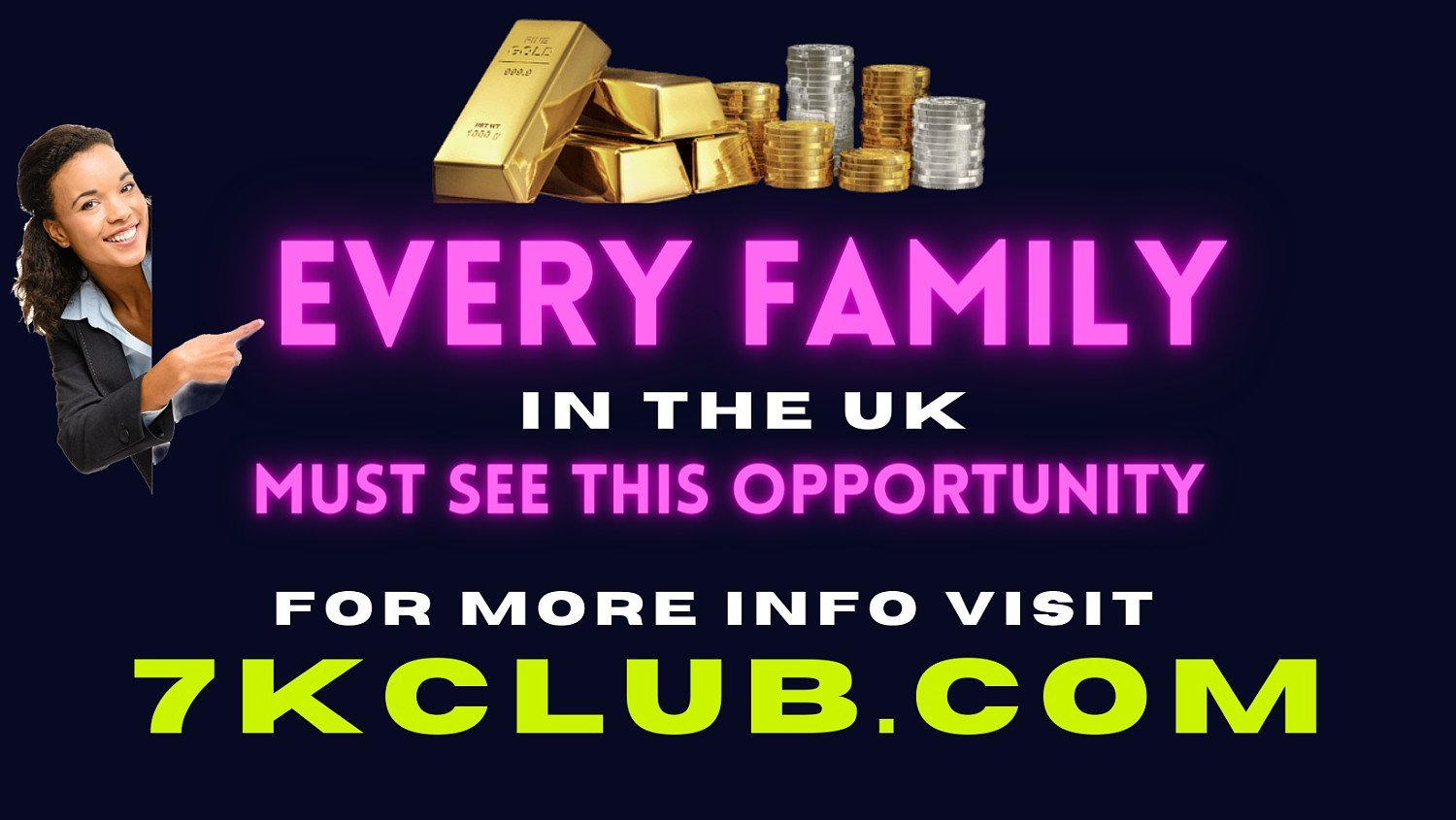 EVERY FAMILY MUST SEE THIS OPPORTUNITY.