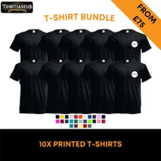 Printed T-Shirts x 10