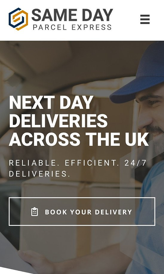 SAME DAY Courier Services Edinburgh and Nationwide