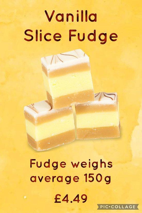 Vanilla Slice Fudge