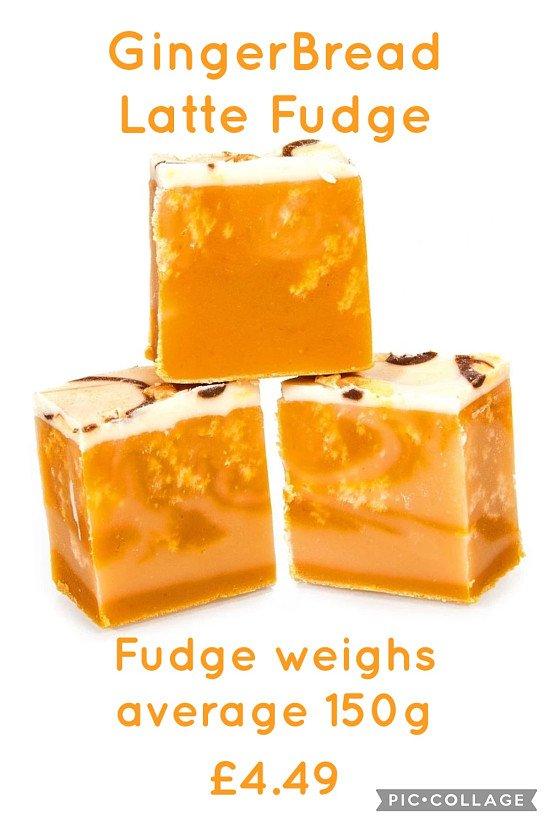 GingerBread Latte Fudge