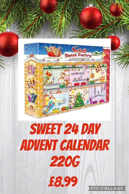 SWEET 24 Day ADVENT CALENDAR 220G 🎅🏻
