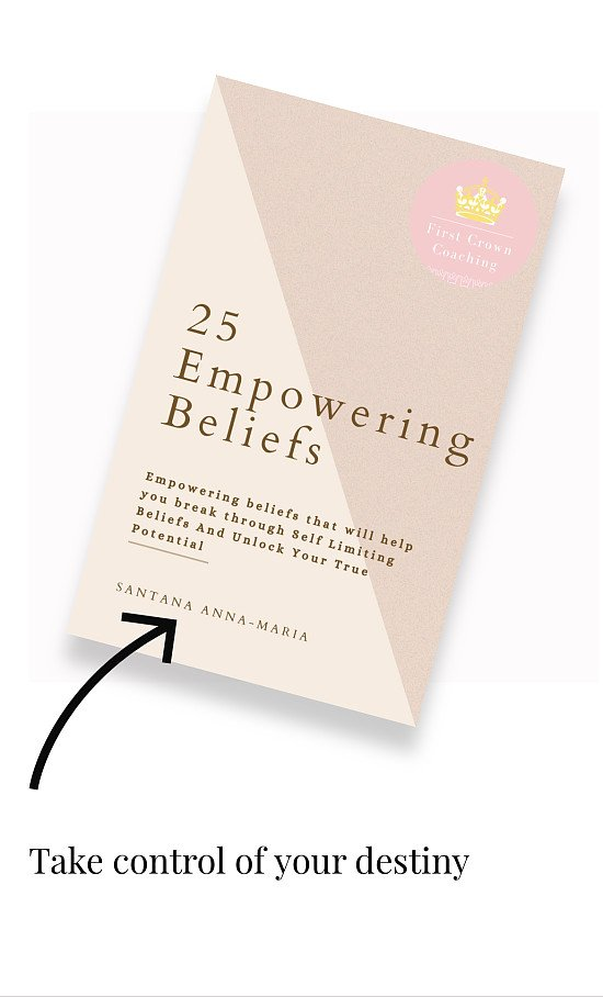 25 Empowering beliefs that made my client 1K in sales