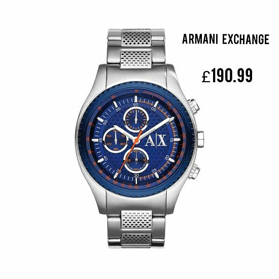 Save Additional 20% and Free Delivery on This Stylish ARMANI EXCHANGE Men's Watch