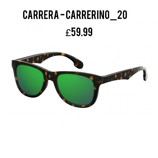 Save Additional 20% and Free Delivery on This Stylish CARRERA-CARRERINO_20 Kids Sunglasses