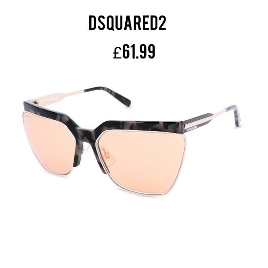 Save additional 20% and Free Delivery on This Stylish DSQUARED2 Ladies Sunglasses