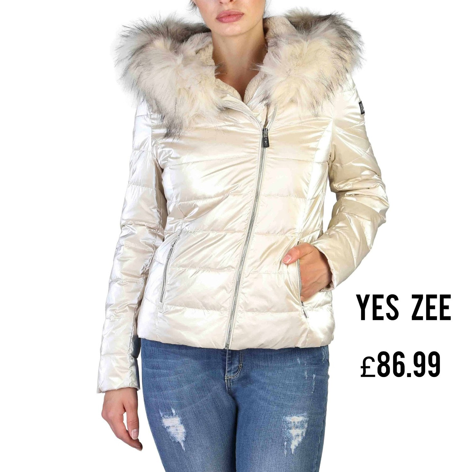 Save Additional 20% and Free Delivery on This Stylish YES ZEE Ladies Jackets £86.99