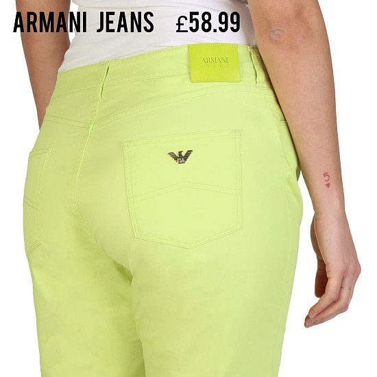Save additional 20% and Free Delivery on This Stylish ARMANI JEANS Ladies Jeans