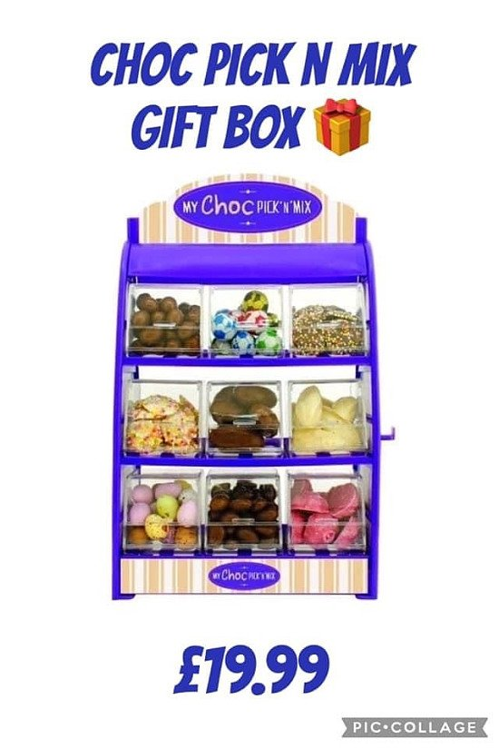 Choc Pick n Mix Gift Box