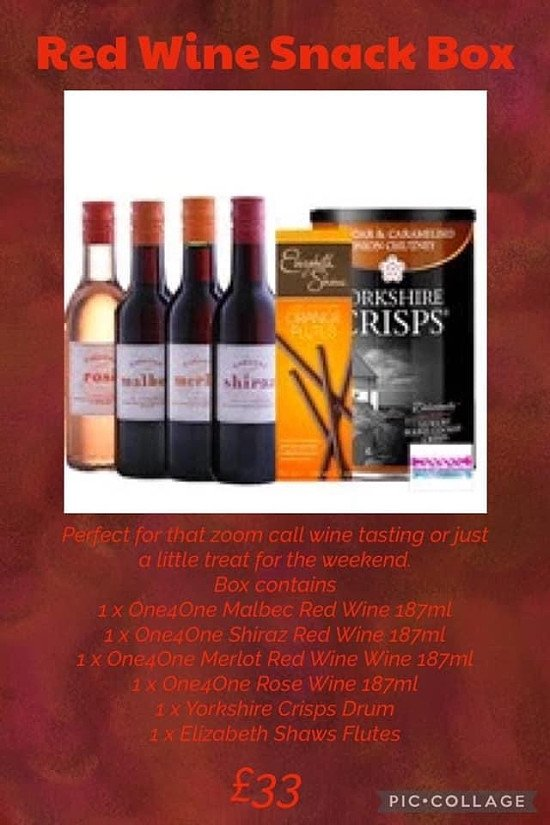 Red Wine Snack Box 🍷