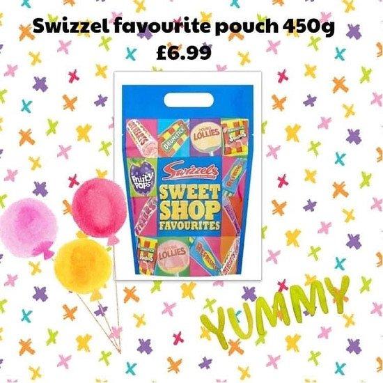 Swizzel favourite pouch 450g