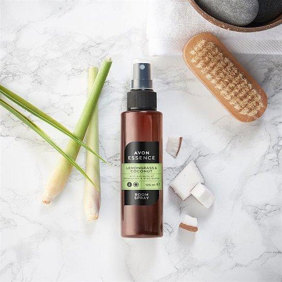 Avon Senses Essence Lemongrass & Coconut Room Spray, 125ml only £4.00!